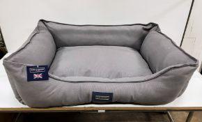 Hugo & Hudson L Pet Bed - Grey - RRP£79.99