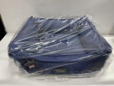 Hugo & Hudson M Pet Bed - Navy Blue - RRP£59.99