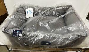 Hugo & Hudson L Grey Pet Bed - RRP£79.99