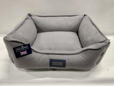Hugo & Hudson M Pet Bed - Grey - RRP£59.99