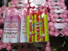 Approx 600 x Brand New Swizzels Air Freshener Cans | See photographs and description