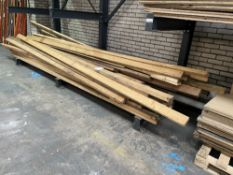 Large Quantity of Spare Timber as per pictures