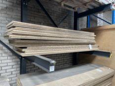 14 x Heavy Duty Tongue & Groove Chipboard Floorboards | 240cm x 60cm x 4cm