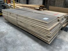 24 x Heavy Duty Tongue & Groove Chipboard Floorboards | 240cm x 60cm x 4cm