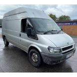 Ford Transit 350 LWB Panel Van | 05 Plate| 168,443 Miles