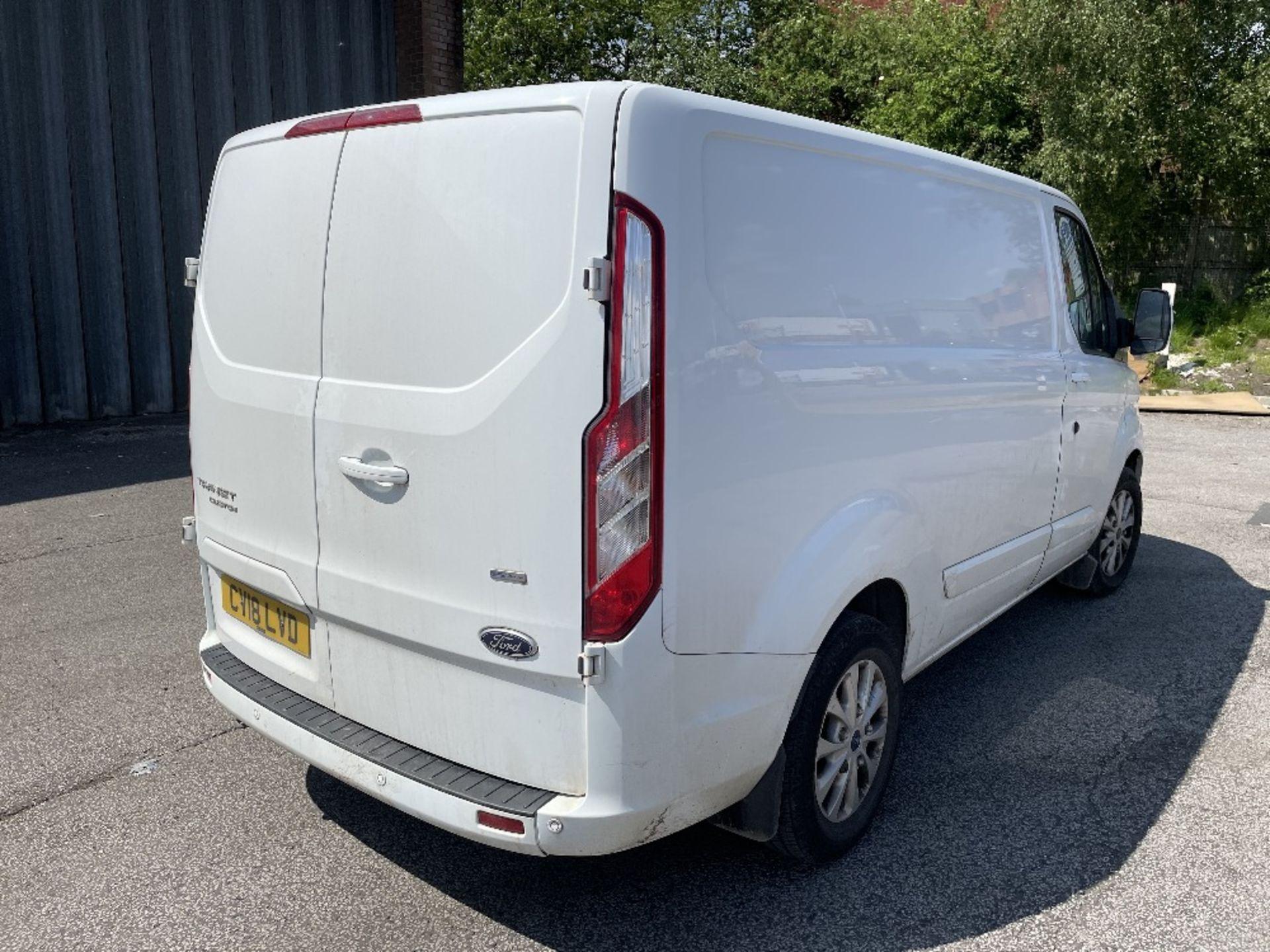 Ford Transit Custom 300 Limite Diesel Panel Van | 18 Plate | 35,672 Miles - Image 6 of 15