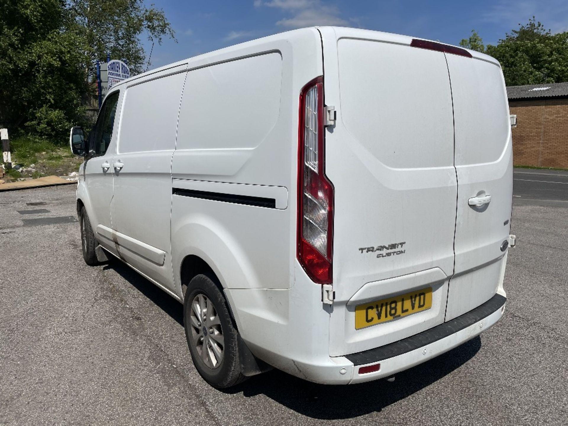 Ford Transit Custom 300 Limite Diesel Panel Van | 18 Plate | 35,672 Miles - Image 4 of 15