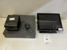 Aures YUNO-BASE161 EPOS System w/ Cash Drawer & Receipt Printer