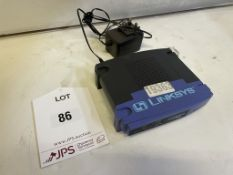 Linksys BEFSR41 Etherfast Cable/DSL Router