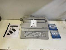 Brother CM-1000 Typewriter w/ 2 x Packs of Ribbons