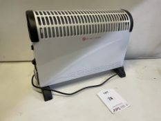 2KW Electric Convector Heater w/ Timer