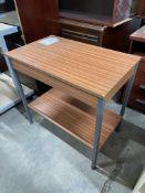 Wooden Effect 2 Ter Storage Unit