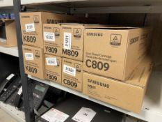 8 x Various Samsung Printer Toners/Cartridges