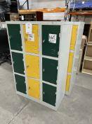 9 & 12 Door Metal Locker Units