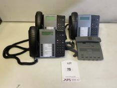 4 x Various Tele/DictaPhones as per pictures