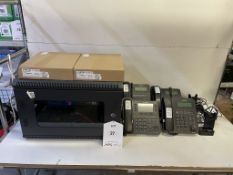 iPECS UCP-CS100 Telephone System w/ Cabinet, Handsets, Headsets & POE