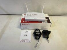 DrayTek Vigor2762n ADSL2/2+ & VDSL2 Router