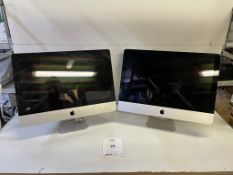 2 x Apple A1311 iMac All-in-One Computers