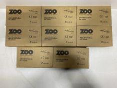 8 x Zoo Hardware - ZUKB64SS Bathroom Lock | Total RRP £131.76