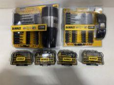 6 x Various Dewalt Bit Sets | RRP £215.06