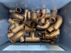 Various Copper Pipe Fittings
