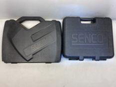 2 x Empty Senco Powertool Carry Cases
