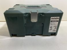 Metabo 685127000 Brushless Combo SB18LTX/SSD18LTX Twin Set Carry Case Only!