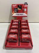 Milwaukee Shockwave Ph2 Impact Duty Bit Box | RRP 69.80