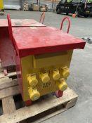 6 Socket 230/110v Portable Site Transformer Unit