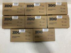 """8 x Zoo Hardware - ZUKS364SS 3 Lever Sash Lock 2.5"""""""