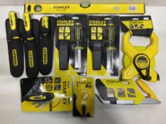 Mixed Lot Of Various Stanley Tools & Accessories