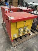 Safesite Electrics 110/415v Portable Site Transformer Unit