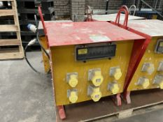 Taylor Transformers 110/415v Portable Site Transformer Unit