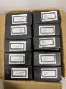 10 x Boxes Of FTD2040ASN Concave Bow Handles - Satin Nickel ( 25 Pcs Per Box )