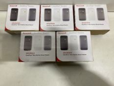 5 x Honeywall OP10HONS Proximity Reader With 3 Bezels