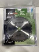 5 x Trend CSB/23024 Craft Saw Blade 230mm x 24T x 30mm | RRP £103.60
