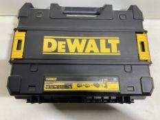 DeWalt DCD796PM XR Brushless Hammer Drill T-STAK Case ( Drill Not Included )