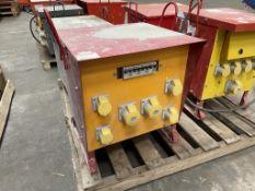 110/415v Portable Site Transformer Unit
