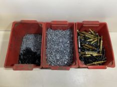 Large Quantity Of Screws,Nuts,Bolts,Fasteners And Various Other Equipment