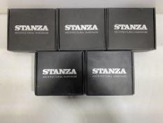 5 x Various Zoo Hardware Stanza Door Handle Sets