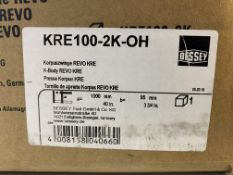 BESSEY KRE100-2K-OH TWIN PACK KRE CLAMP | RRP £142