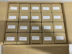 20 x Zoo Hardware - ZSHPSC Spring Hinge Plus Slave Packs