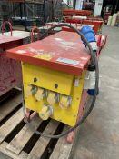 Mather & Stuart 110/415v Portable Site Transformer Unit
