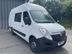 Vauxhall Movano R3500 L3H3 CDTI Welfare Van | Reg: DN15 ZPS | Mileage: 43,803
