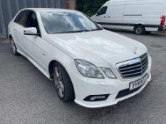 Mercedes E220 BlueEF-CY Sport CDI A Saloon | Reg: YY59 LUJ | Mileage: 87,237