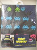 100 x Brand New and Sealed Space Invader Single Duvet Set   Total RRP £1,500