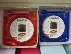 500 x CaterPlate Reusable Plate with Cutlery