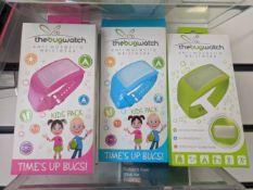 500 x The Bug Watch Kids Anti Mosquito Wristwear   New and Sealed
