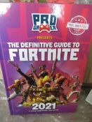 1000 x Brand New Fortnite Activity Annual   RRP £8,990