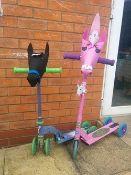1000 x Handlebar Heroes Scooter/Bike Decoration Kits   RRP £9,000